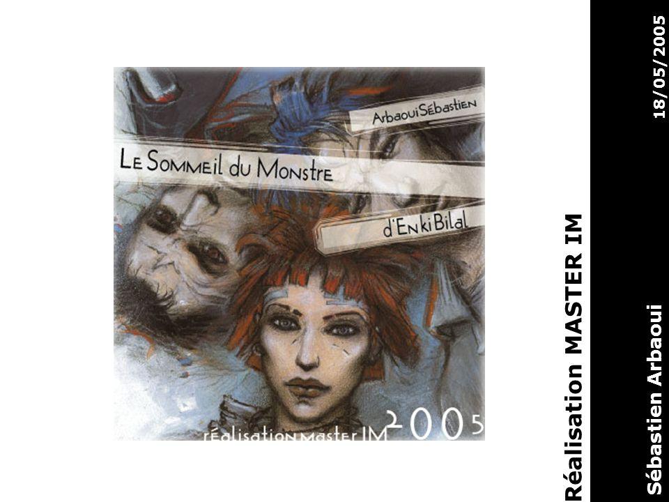 Sujet : Clip de présentation de la bande dessiné Le sommeil du monstre crée par Enki Bilal sorti en 1998.