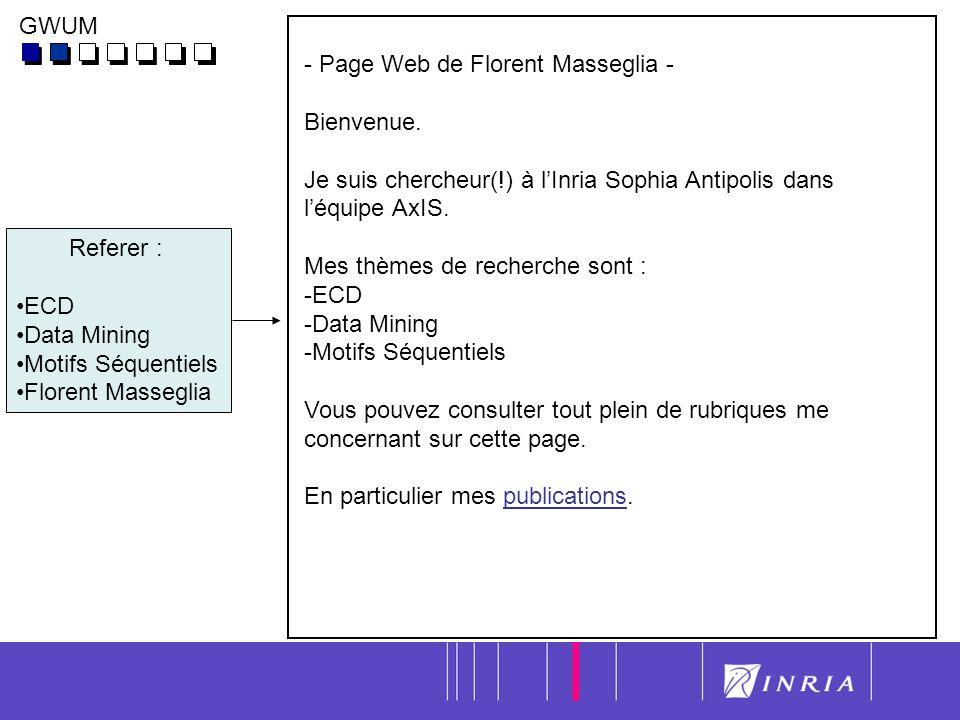 7 - Page Web de Florent Masseglia - Bienvenue.
