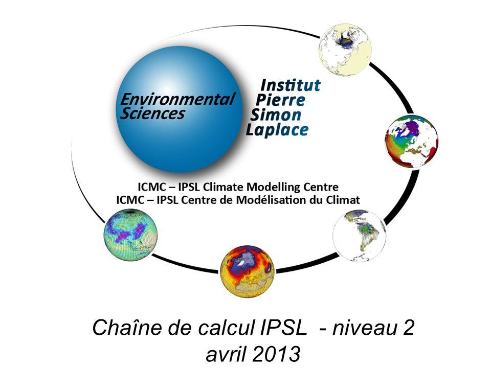 Cas particulier : IPSLCM5A-MR Voir : platform/documentation/configuration/IPSLCM5#IPSLCM5A-MR MR : Attention au rebuild –sur curie, les rebuild du MR prennent plus de 24h.