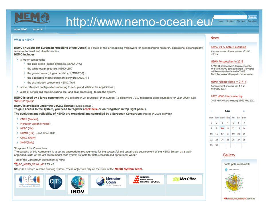 http://www.nemo-ocean.eu/