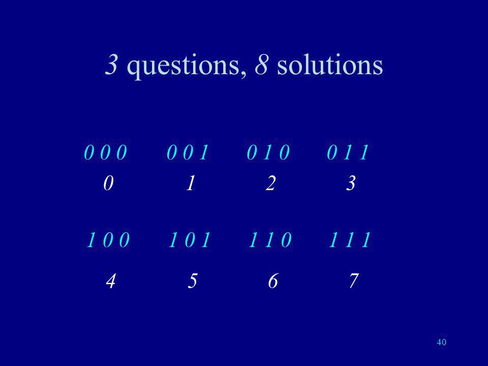 39 8 Cartes: 3 questions OOOOONONOONN NOONONNNONNN Remplacer O par 0 et N par 1