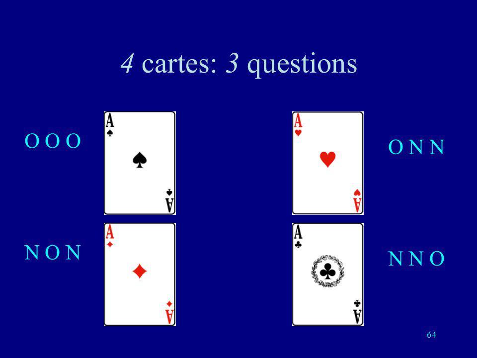 63 Troisième question: est-ce lun de ces deux cartes?