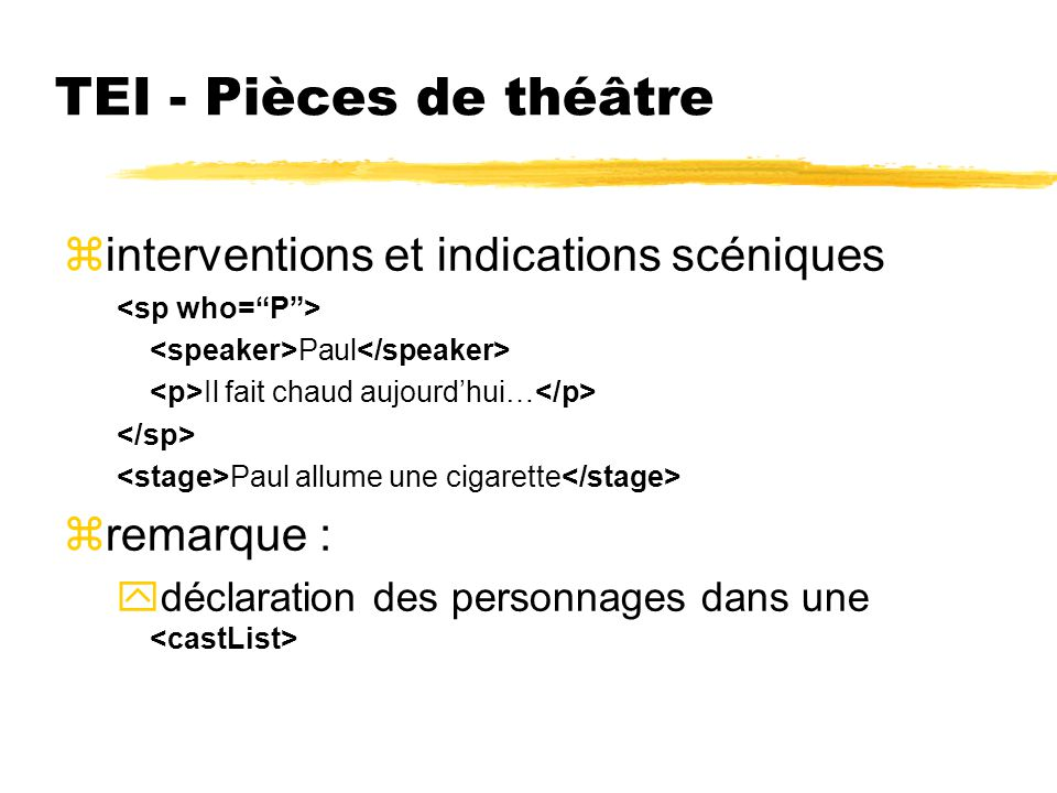 TEI - Transcriptions de loral ztours de parole, segments France Telecom, bonjour.