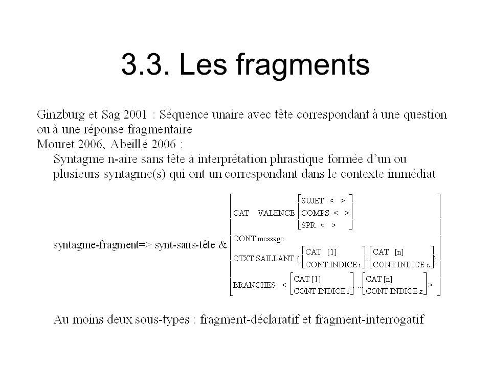 3.3. Les fragments