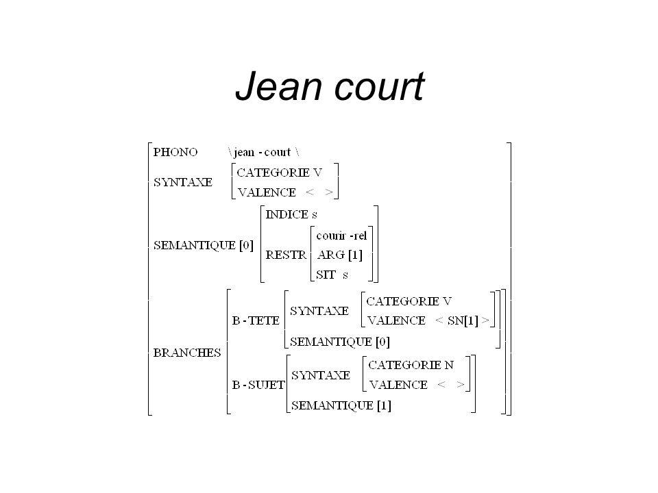 Jean court