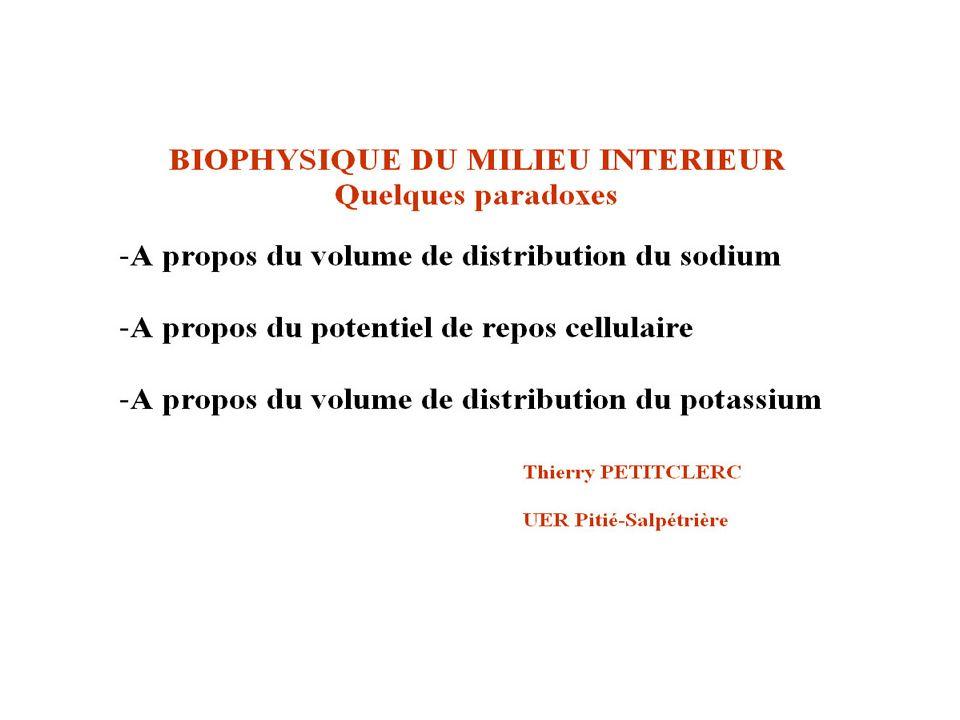 Volume de distribution 1