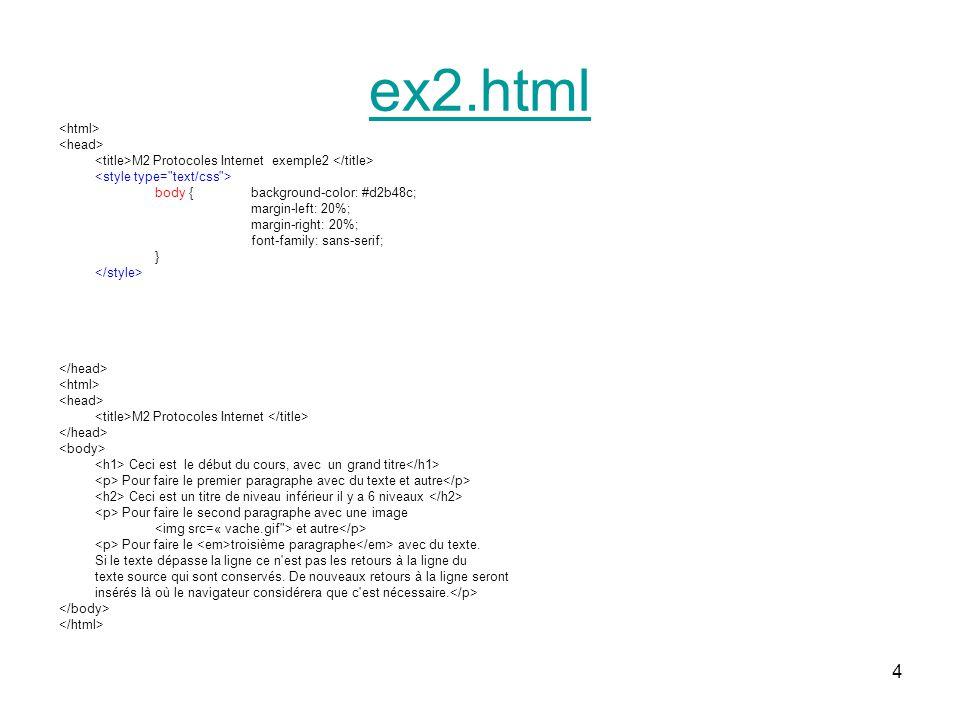 25 body {background-color: #d2b48c; color: red; margin-left: 20%; margin-right: 20%; font-family: sans-serif;} p{background-color: yellow;} p#sec {background-color: green;} em {color : black;}.titre {font-family:symbol;} mafeuille2.css
