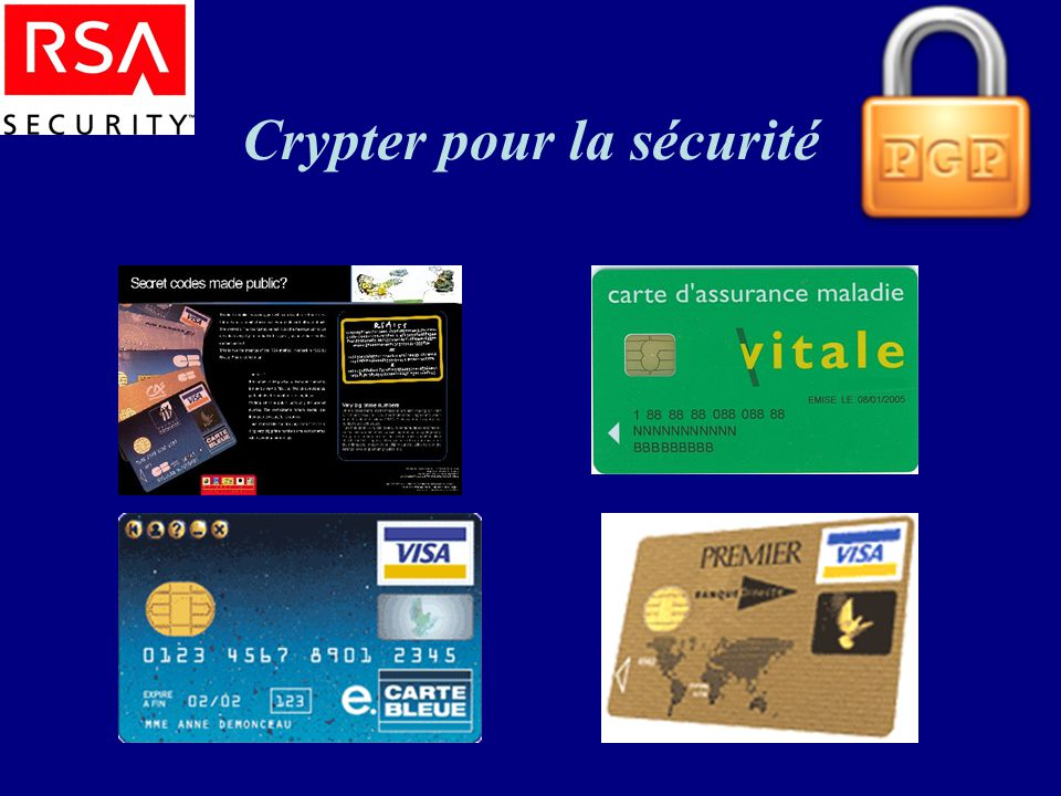 Crypter pour la sécurité