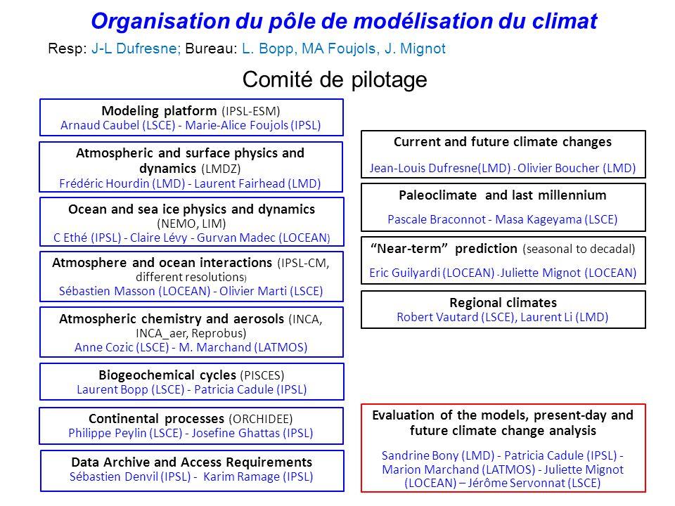 Modeling platform (IPSL-ESM) Arnaud Caubel (LSCE) - Marie-Alice Foujols (IPSL) Data Archive and Access Requirements Sébastien Denvil (IPSL) - Karim Ra