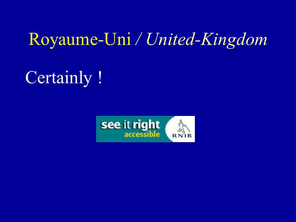 Certainly ! Royaume-Uni / United-Kingdom