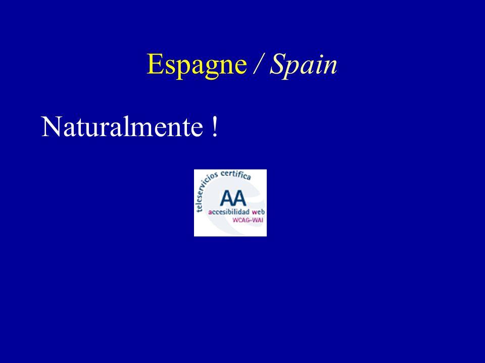 Naturalmente ! Espagne / Spain