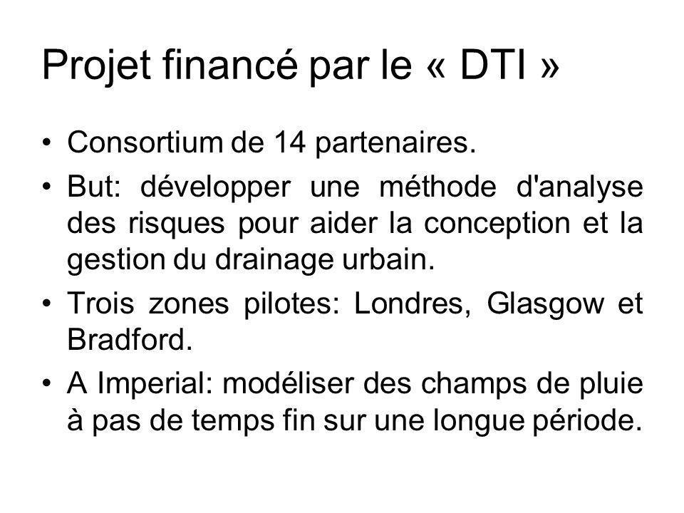 Projet financé par le « DTI » Consortium de 14 partenaires. But: développer une méthode d'analyse des risques pour aider la conception et la gestion d