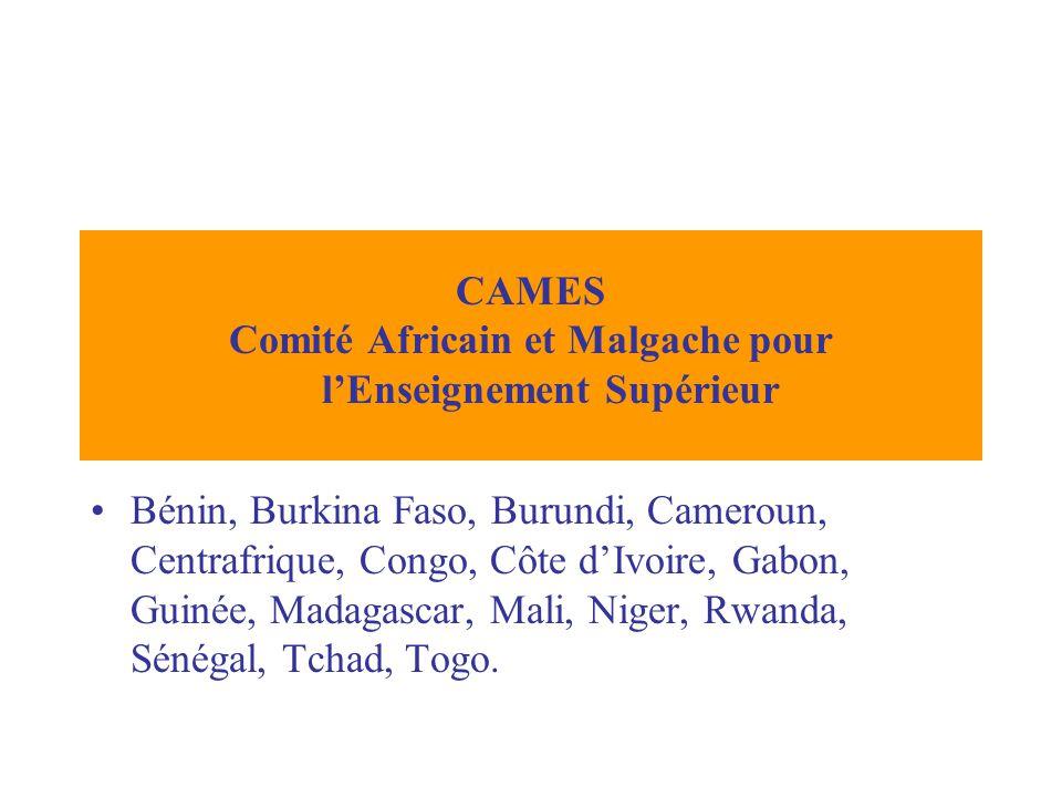 Bénin, Burkina Faso, Burundi, Cameroun, Centrafrique, Congo, Côte dIvoire, Gabon, Guinée, Madagascar, Mali, Niger, Rwanda, Sénégal, Tchad, Togo.