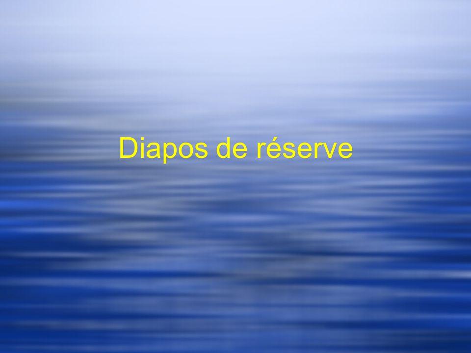 Diapos de réserve