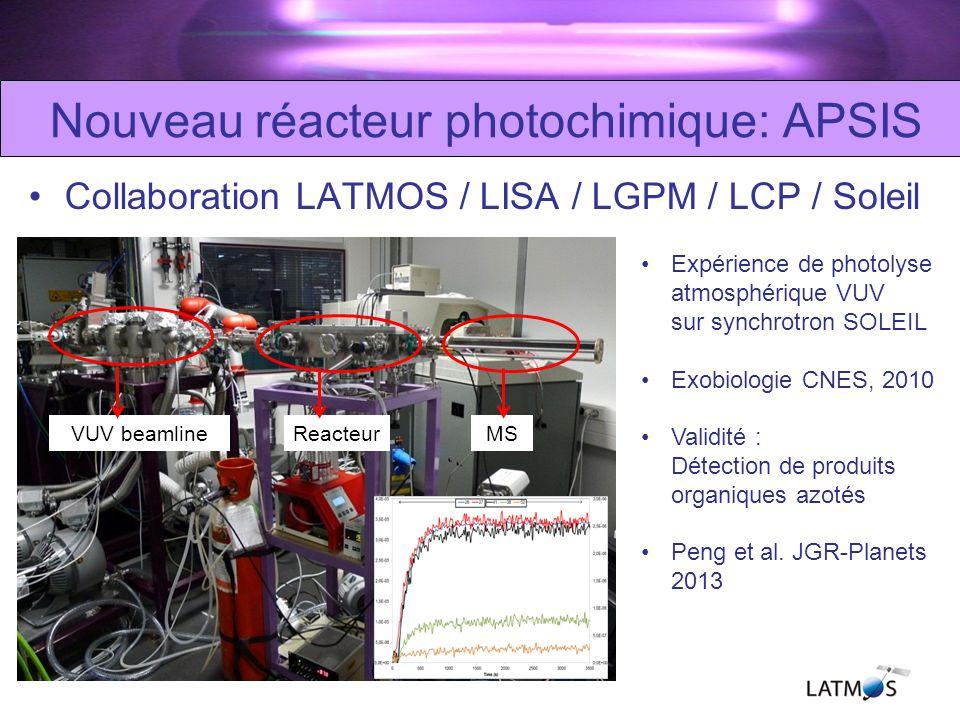 Lexpérience plasma : PAMPRE Décharge plasma RF –Plasma « froid »: neutres à température ambiante –Plasma « poudreux »: Optimal pour la production daérosols SMARD: coll.