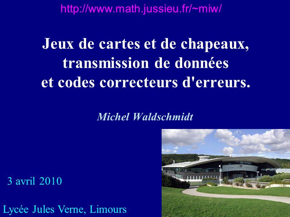 11 Codes et Mathématiques Algèbre (mathématiques discrètes, algèbre linéaire,…) Géométrie Probabilités et statistiques