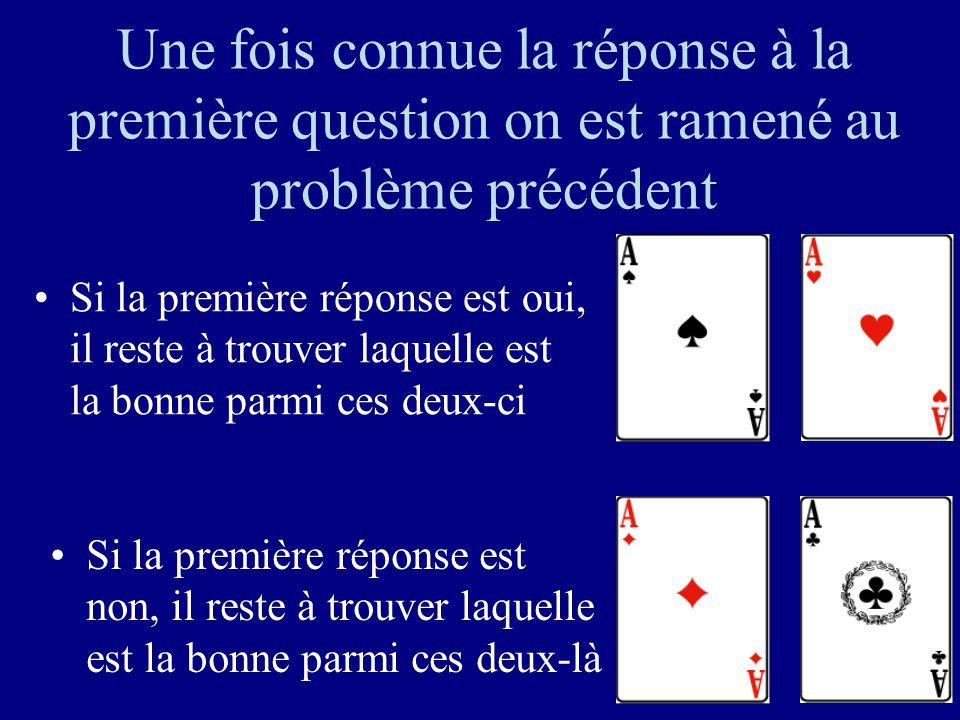 35 Première question: est-ce une de ces deux cartes?
