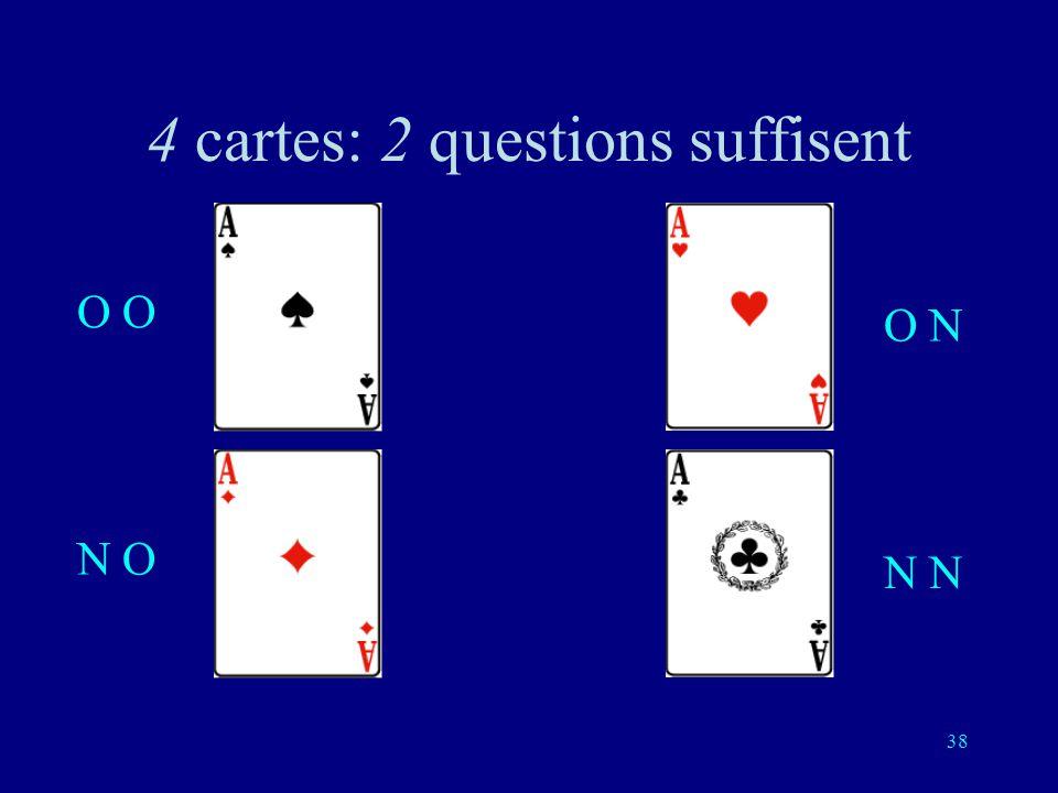 37 Deuxième question (indépendante de la première réponse): est-ce une de ces deux cartes?