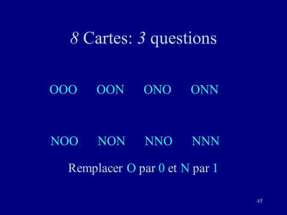 44 Oui / Non 0 / 1 Yin / Yang - - Vrai / Faux Gauche / Droite Blanc / Noir + / - Pile / Face