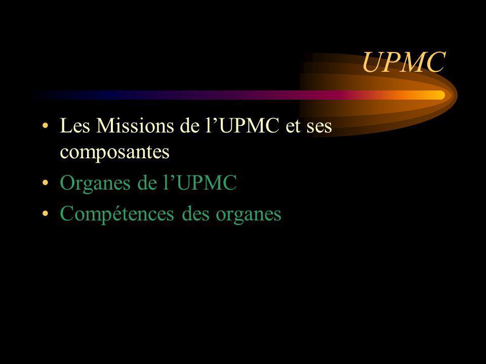 Mission de recherche scientifique, technologique et pédagogique LUniversité contribue à lélaboration des connaissances.