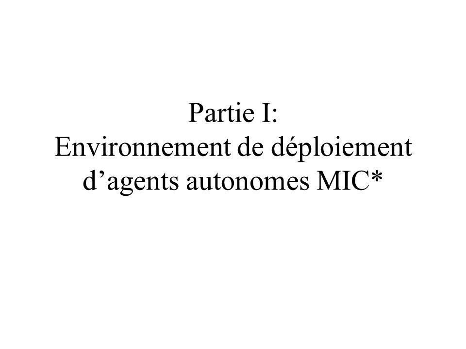 Motivation Ingénierie de systèmes informatiques selon les principes du paradigme multi-agents: cohérence paradigmatique.