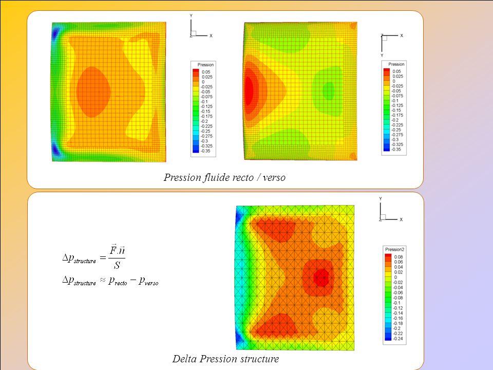 Delta Pression structure Pression fluide recto / verso