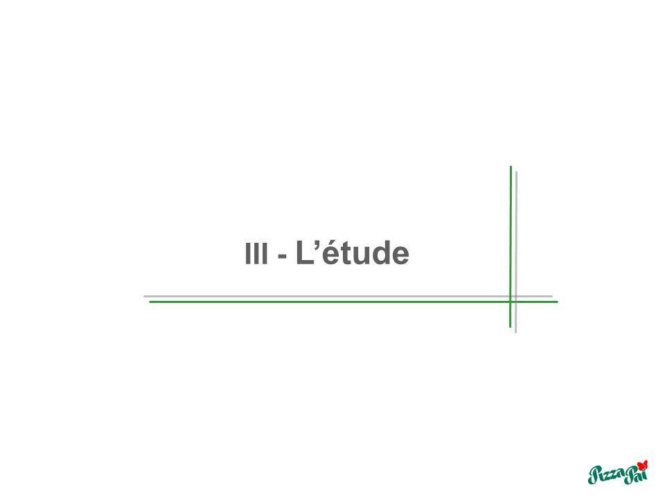 III - Létude