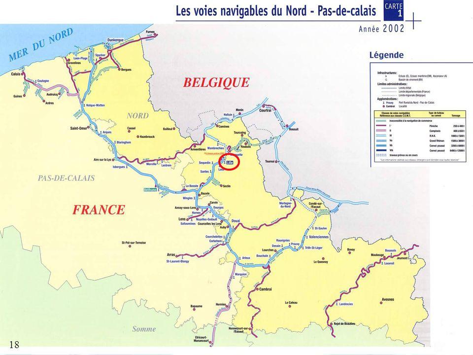 Transport fluvial des produits agroalimentaires non-intentionnels 18