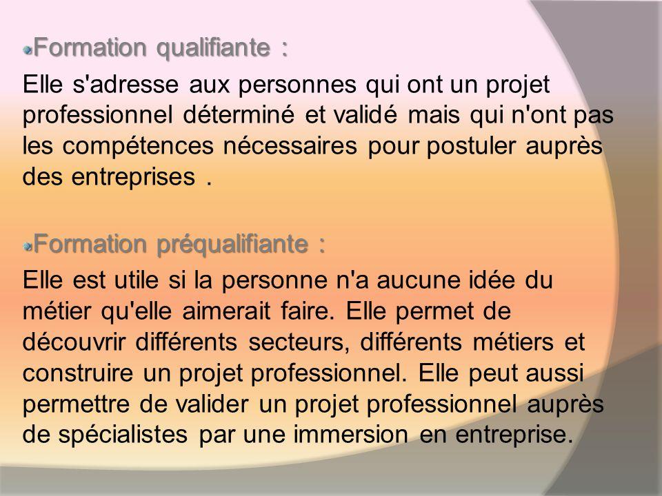 Formation de certifications : Le CQP (Certificat de Qualification Professionnelle) est créé par une branche professionnelle et délivré par la CPNE (Commission Paritaire Nationale de lEmploi).