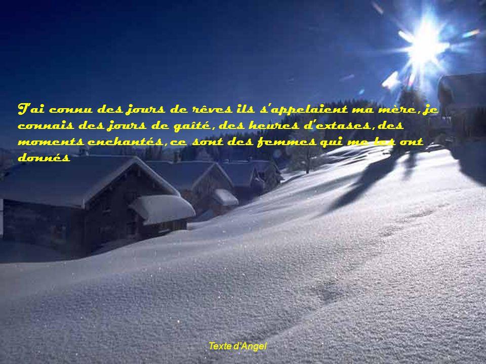Texte DAngel Il nest pas dhomme sans vous, et nous sans vous qui sommes nous?
