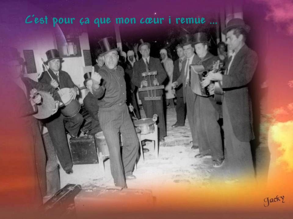 Chanson très souvent interprètée à La Marinelle et ailleurs, notamment dans les bars de Philippeville, par les « Gibussiens », un groupe folklorique dirigé par le célèbre Bagur.