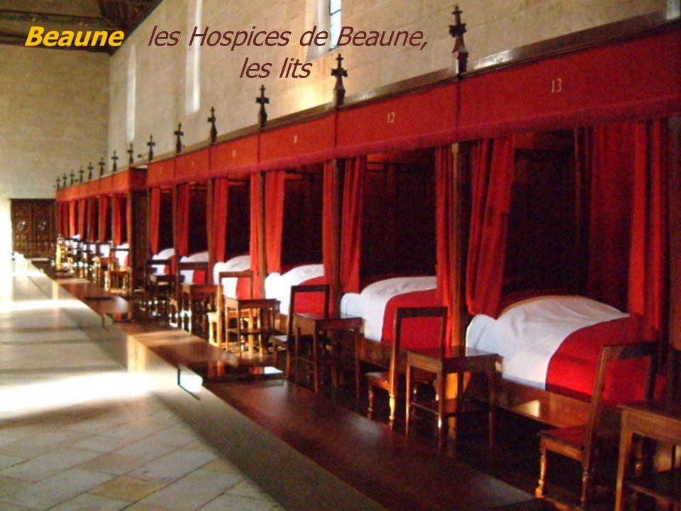 Beaune Hôtel-Dieu ou les Hospices de Beaune.. Ancien établissement hospitalier du XVe siècle