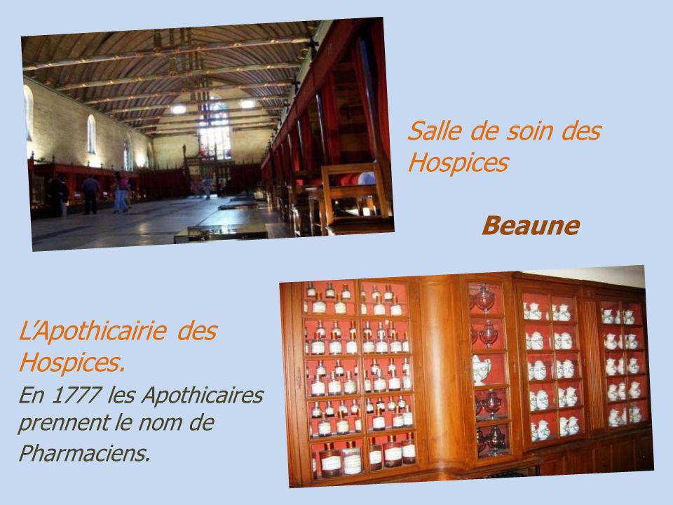 Beaune les Hospices de Beaune,. les lits