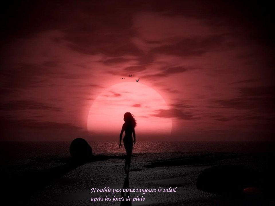 Le cœur devient moins lourd Quand on est en amour