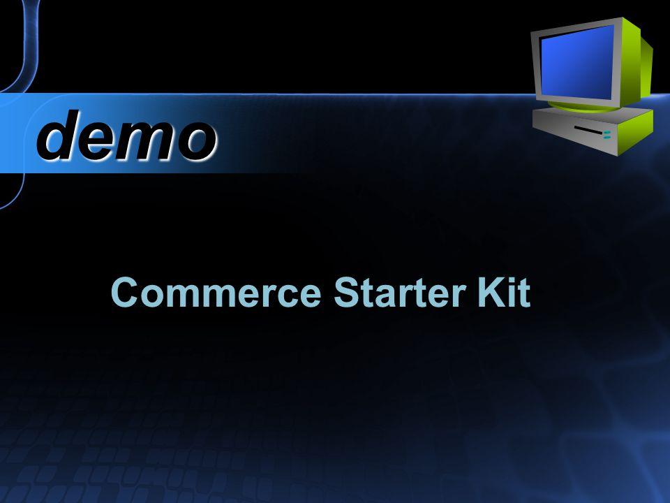 Commerce Starter Kit demo demo