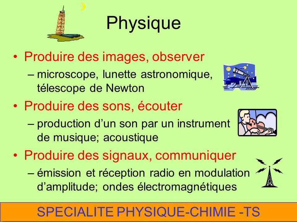 2 heures consécutives toutes les semaines 50 % physique50 % chimie Activités expérimentales dans le prolongement du tronc commun de TS SPECIALITE PHYS