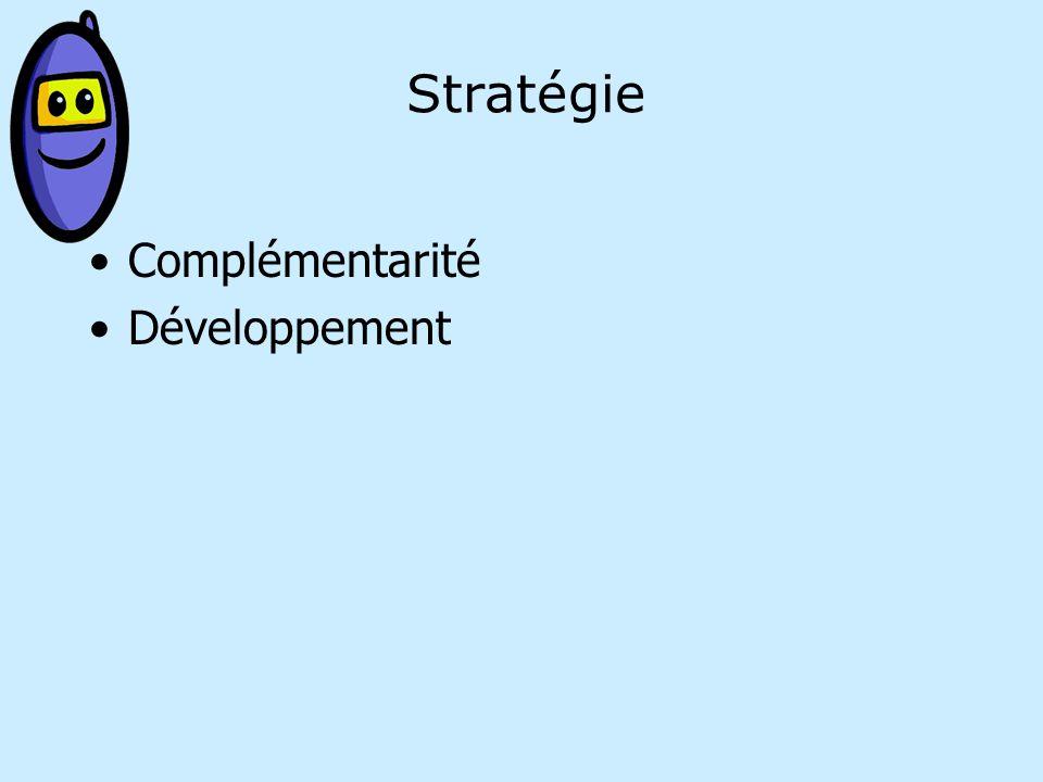 Stratégie Complémentarité Développement
