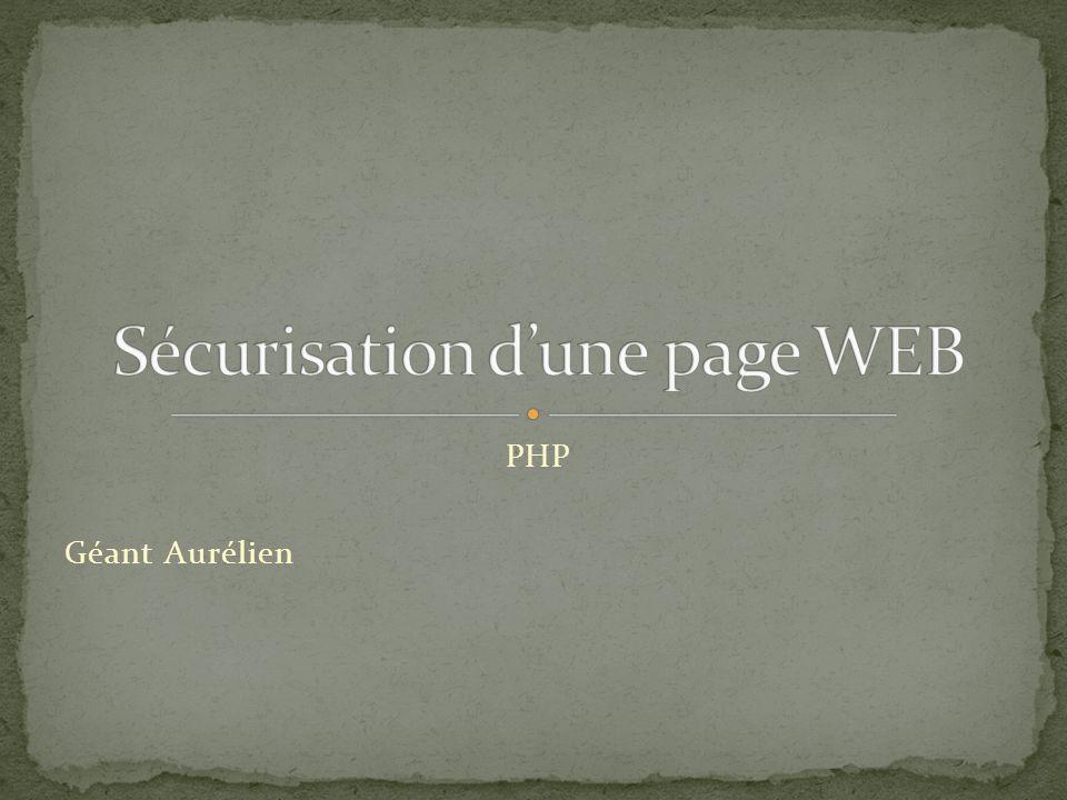 PHP Géant Aurélien