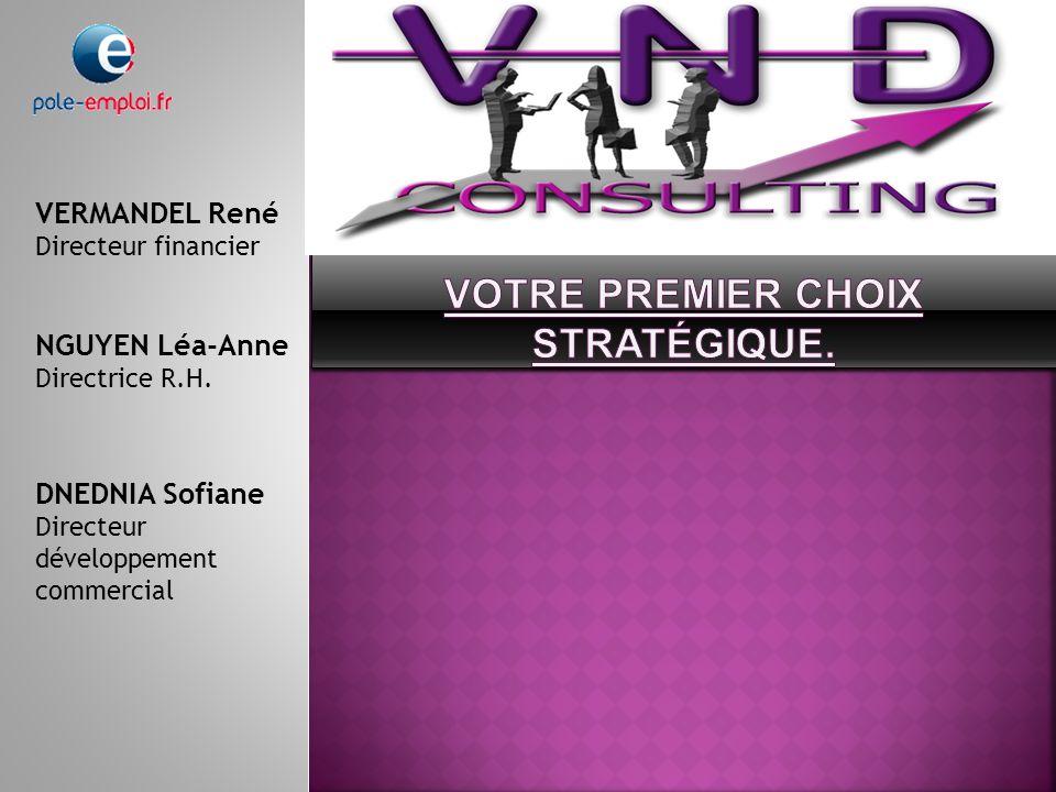 VERMANDEL René Directeur financier NGUYEN Léa-Anne Directrice R.H.
