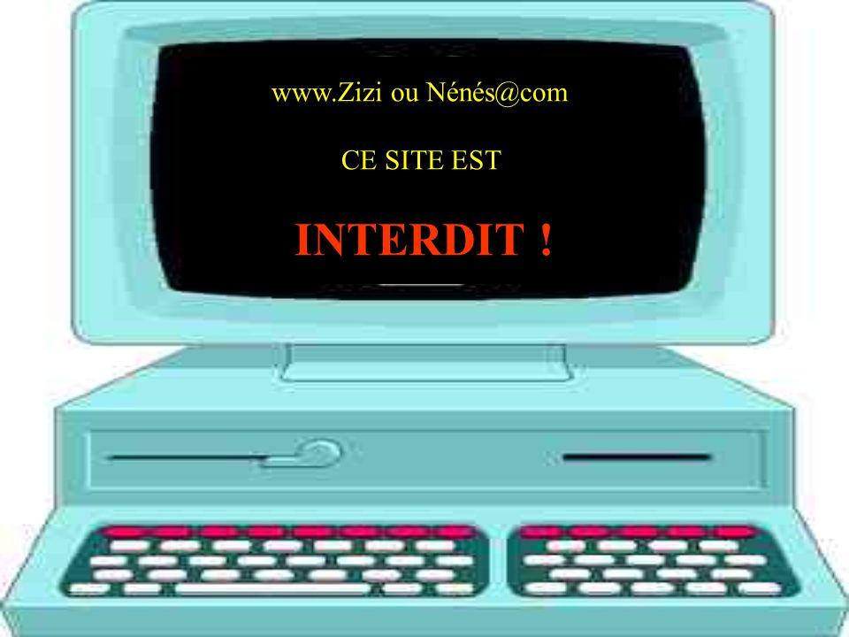 www.Zizi ou Nénés@com CE SITE EST INTERDIT !