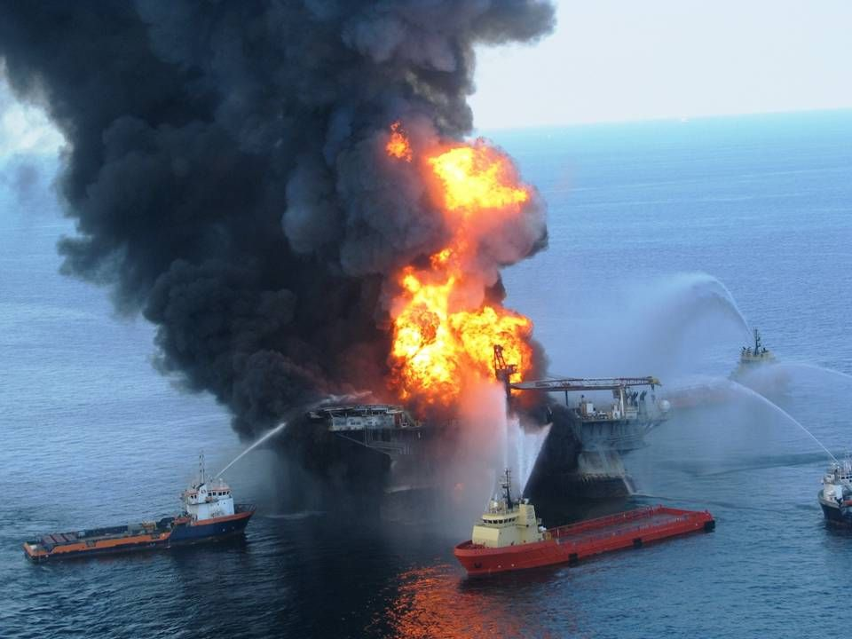 La compagnie pétrolière britannique BP, exploitant de la plateforme de forage en eau profonde qui a sombré au large du golfe du Mexique, assume