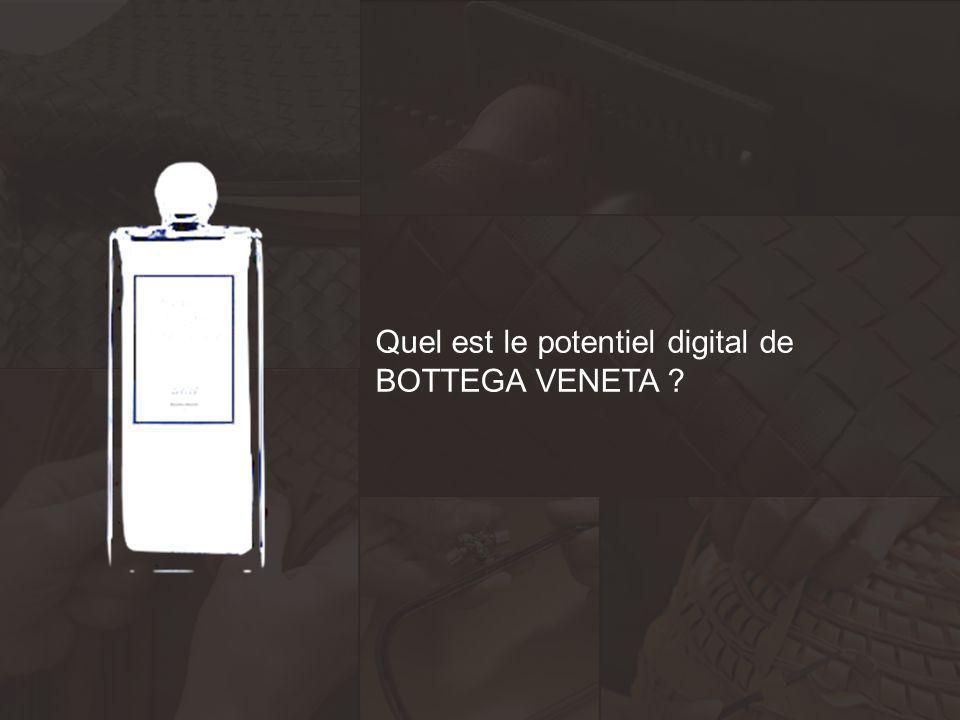 Quel est le potentiel digital de BOTTEGA VENETA ? Quel est le potentiel digital de BOTTEGA VENETA ?