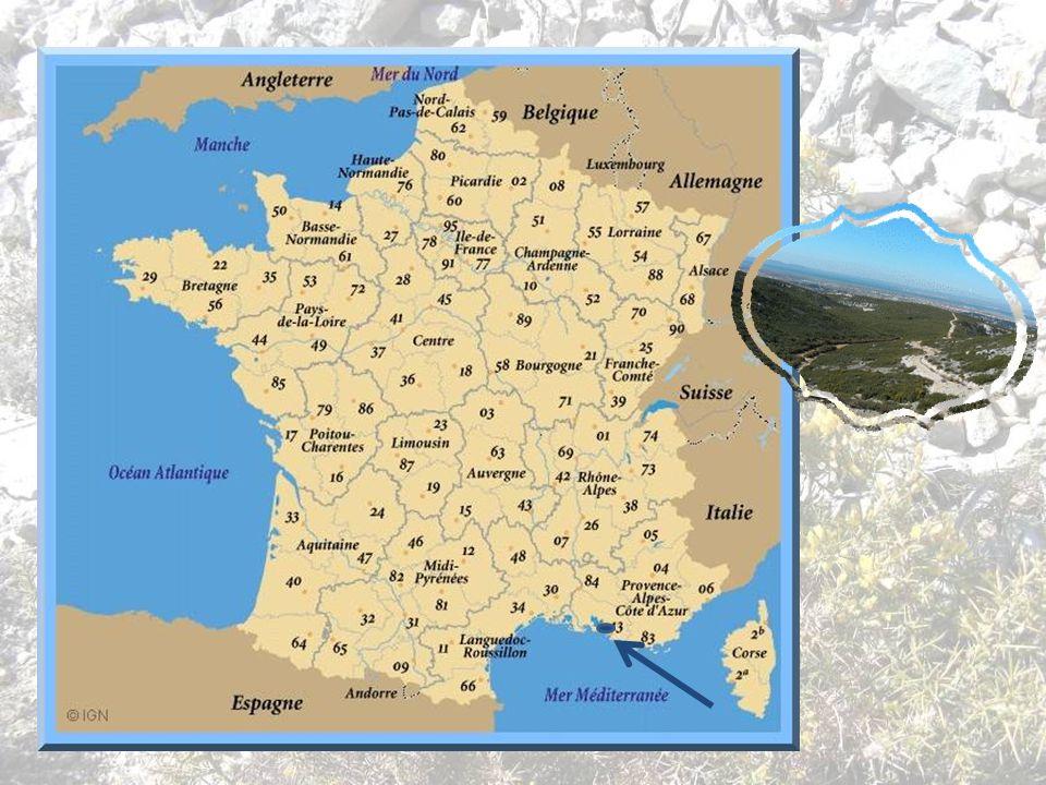 Les collines du Rove font partie de la chaîne de lEstaque ou chaîne de la Nerthe Elles entourent la localité du Rove entre la Méditerranée au sud et l