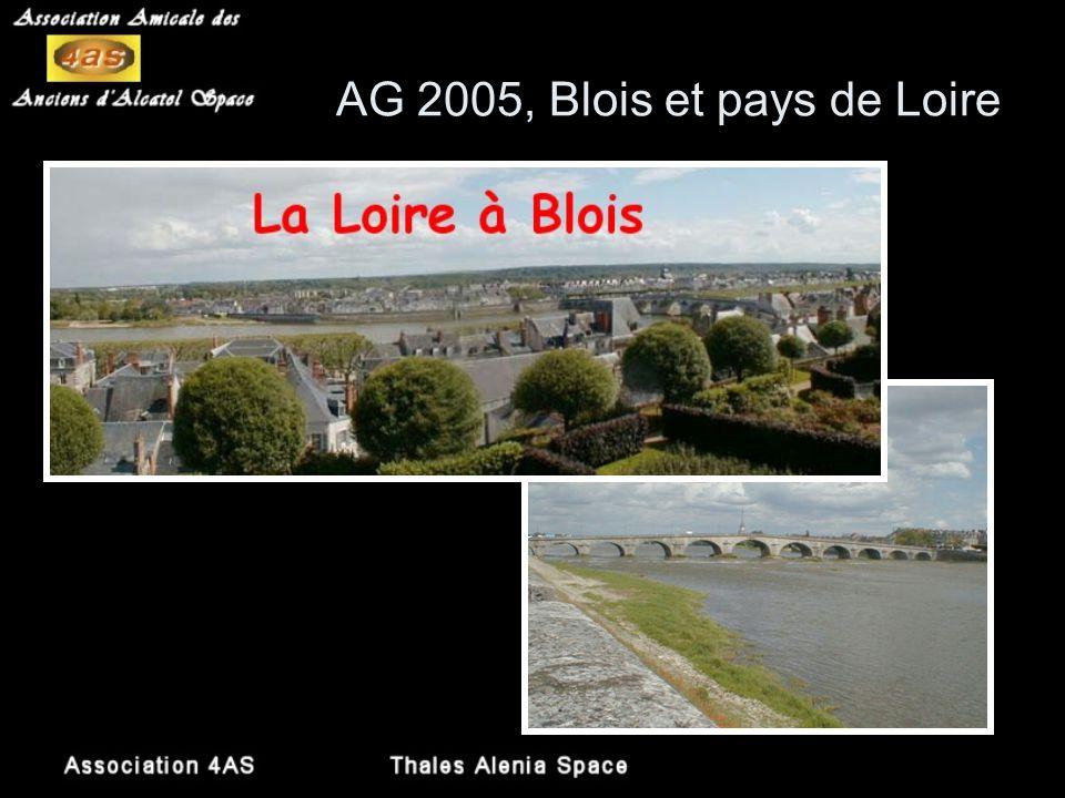 AG 2005, Blois et pays de Loire Ville de Blois dans les rues aux noms évocateurs (Grenier à sel, Fontaine des Elus, Puits Châtel, Papegaults,…) découv