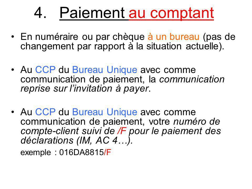 5.Déclaration Les déclarations sont rédigées par vos soins.