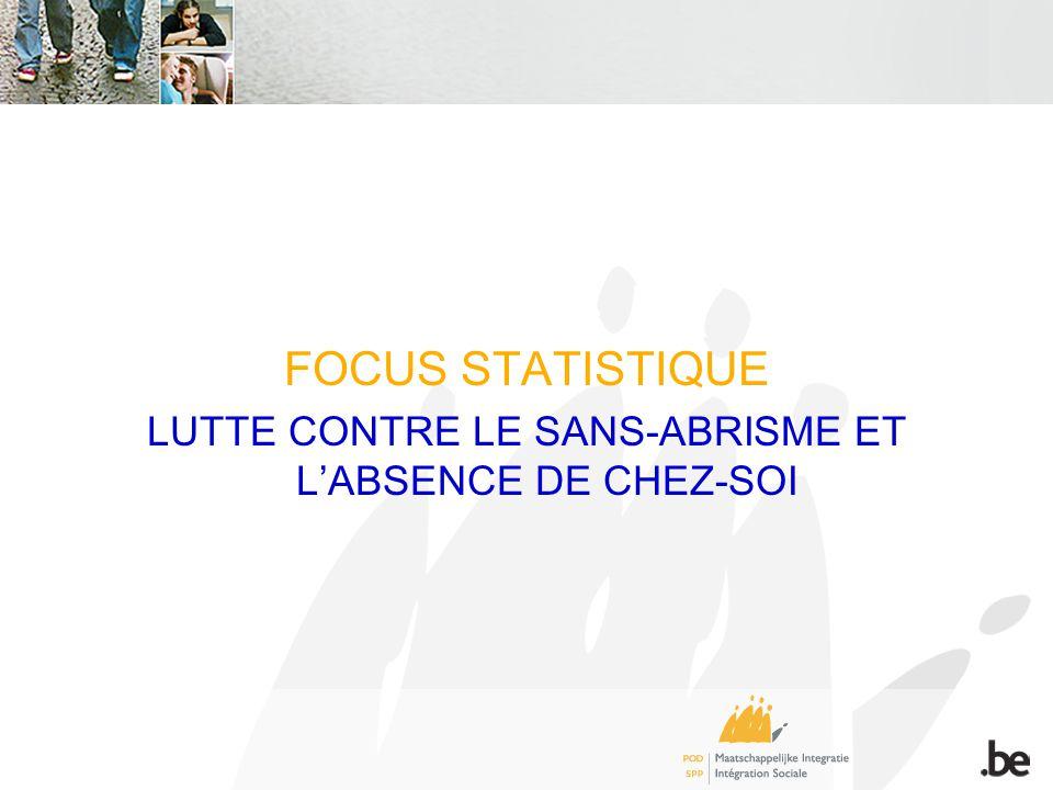 FOCUS STATISTIQUE LUTTE CONTRE LE SANS-ABRISME ET LABSENCE DE CHEZ-SOI
