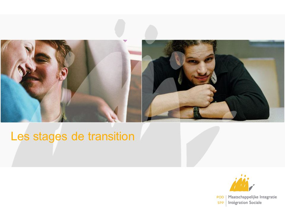 Les stages de transition
