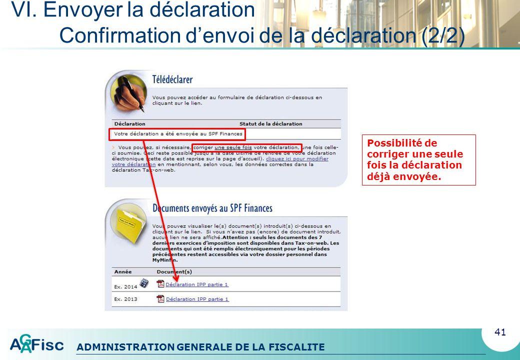 ADMINISTRATION GENERALE DE LA FISCALITE MY MINFIN Le dossier fiscal électronique pour chaque citoyen