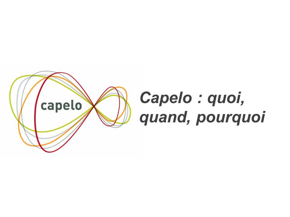 4 Capelo : quoi, quand, pourquoi