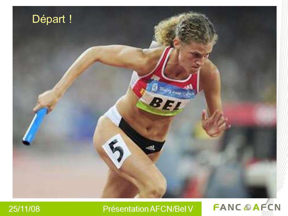 25/11/08 Présentation AFCN/Bel V Départ !